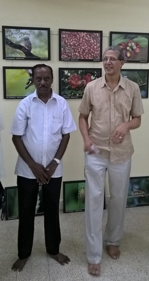 Tim Boyd and Dr. A. Chandrashekar