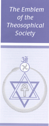 Theosophical Society - The Emblem of the Theosophical Society Pamphlet.  A primer on the meaning of the symbol of the Theosophical Society.