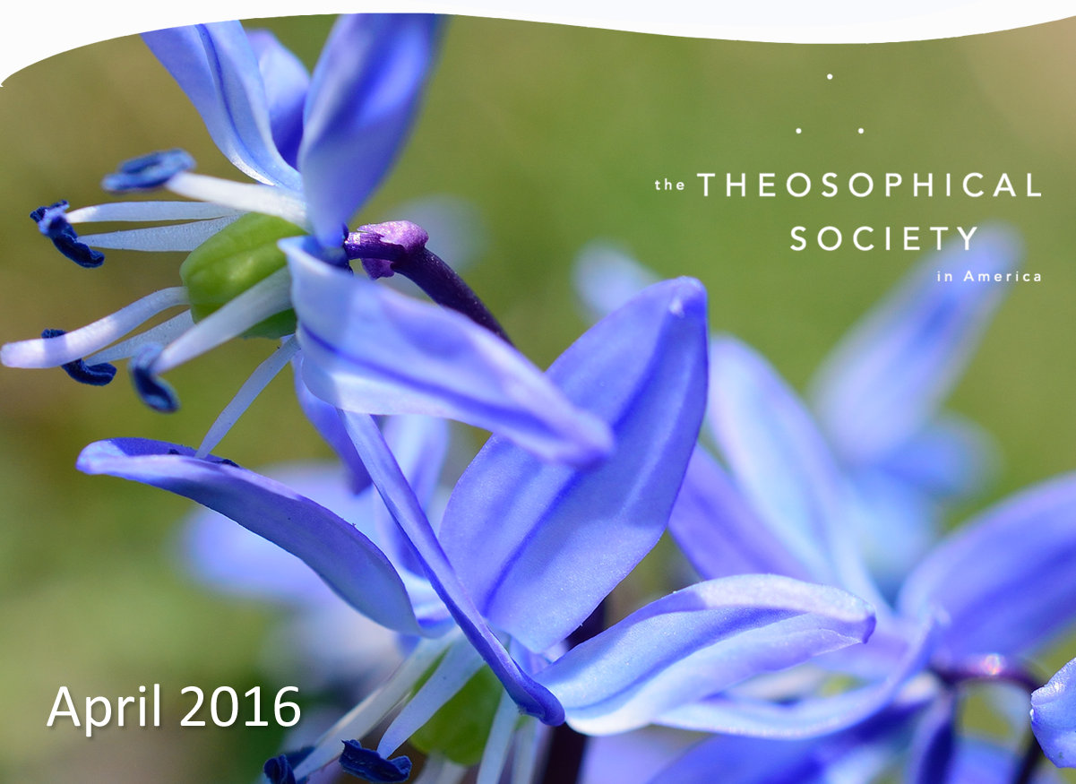 April E-Newsletter from the Theosophical Society in America